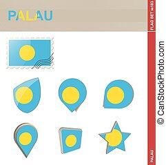 Palau Flag Set, Flag Set #183