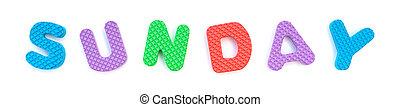 palavra, dado forma, alfabeto, quebra-cabeça, jigsaw, domingo, branca