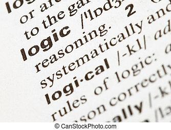 palavra, lógica