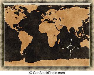 palavra, mapa