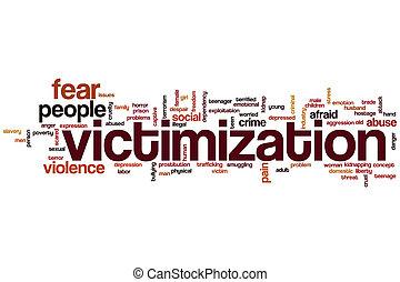 palavra, victimization, nuvem