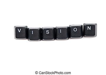 palavra, visão