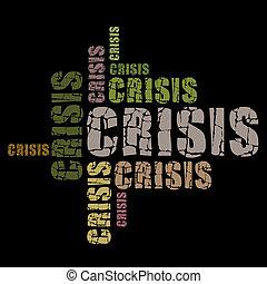 palavras, crise