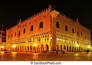 palazzo, イタリア, ducale, ベニス