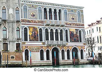 Palazzo Barbarigo Venice Italy - Palazzo Barbarigo at the...