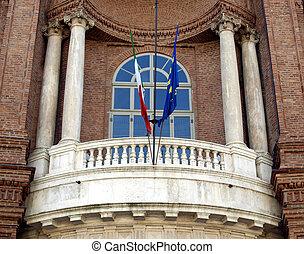 Palazzo Carignano, Turin - Palazzo Carignano in Turin, Italy...