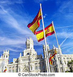 palazzo de cibeles, Madrid