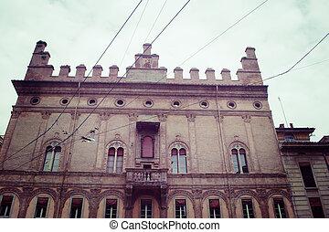 Palazzo degli Strazzaroli in Bologna, Italy