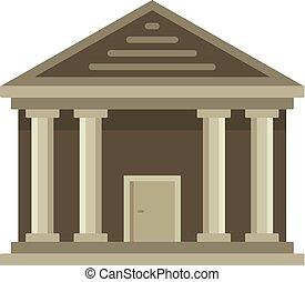 palazzo di giustizia, icona, pietra, appartamento, stile