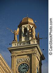 palazzo di giustizia, in, cantone, ohio