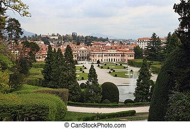 palazzo, estense, 市庁舎, の, varese