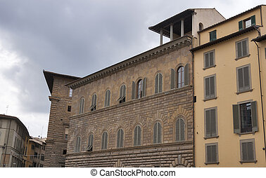 Palazzo Gondi or Palace facade in Florence
