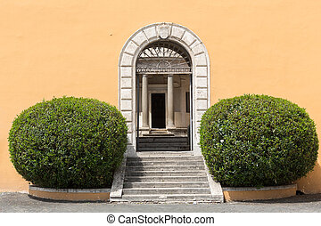Palazzo Montorio on Janiculum Hill in Rome, Italy