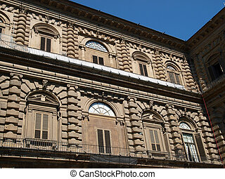 Palazzo Pitti one of the most famous palaces in Florence