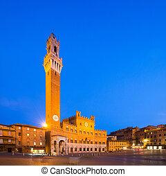 Palazzo Publico and Torre del Mangia