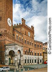 Palazzo Publico, Siena, Italy