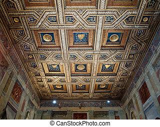 Palazzo Te in Mantua . Italy - MANTUA, ITALY - MAY 2, 2016:...