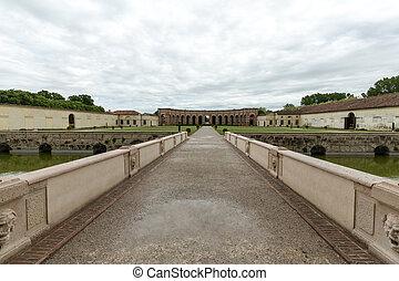 Palazzo Te in Mantua . Italy - Palazzo Te in Mantua is a...