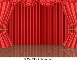 palcoscenico teatrale