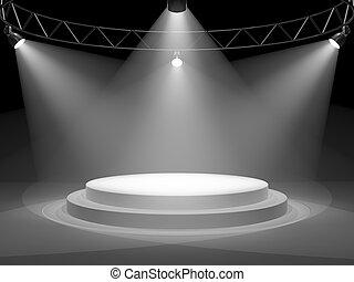 palcoscenico vuoto