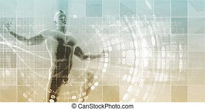 palcowa technologia, lekkoatletyka
