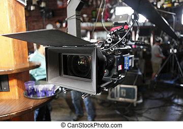 palcowy aparat fotograficzny, kino