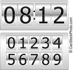 palcowy zegar