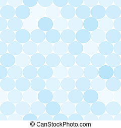 Pale blue vector seamless pattern with circles. Monochrome abstract geometrical background.
