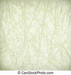 Pale straw print on paper textured background