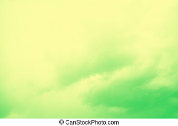 Pale yellow and green color abstract blurred background