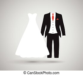 palefrenier, mariée