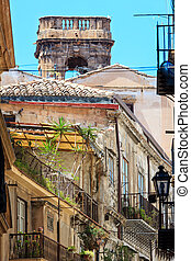 Palermo city view Sicily, Italy