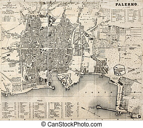 Palermo old map 3