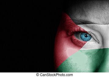 palestina, partidario