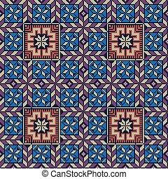 palestino, bordado, patrón, 240