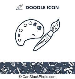 palette doodle
