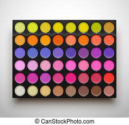 Palette eye shadows - Colorful palette eye shadows....