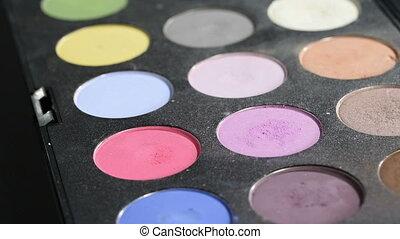 palette, fard paupières
