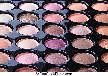 palette, maquillage