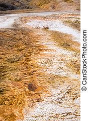 Palette Spring in Mammoth Hot Springs