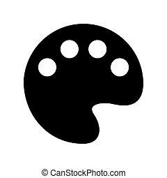 Palette Web Icon - msidiqf