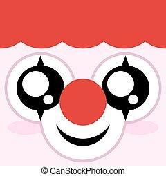palhaço, emoticon