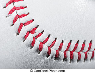palla baseball, dettaglio