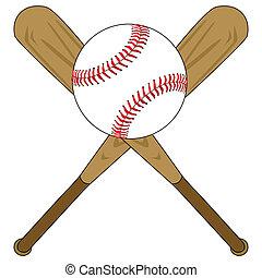 palla baseball, pipistrelli