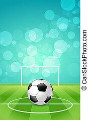 palla, calcio, fondo