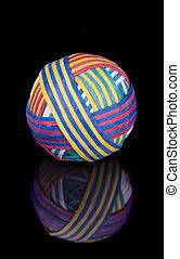 palla elastico, nero, superficie