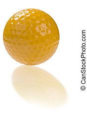 palla, golf, riflessione