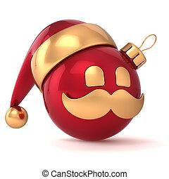palla natale, avatar, anno nuovo, icona