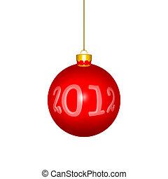 palla natale, riflettere, anno nuovo