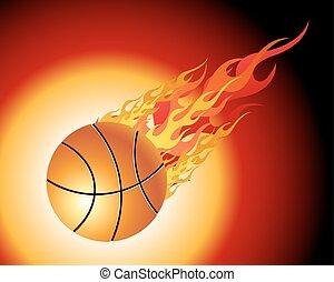 palla pallacanestro, infocato
